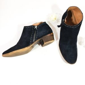Lucky Brand Benna Suede Ankle Bootie